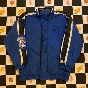 Vintage Starter Kentucky Wildcats Jacket Size L